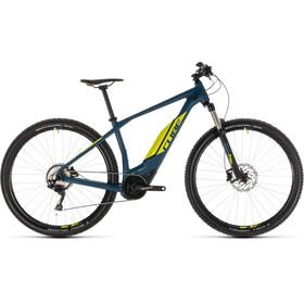 Cube Acid Hybrid Pro 400 Elcykel MTB Hardtail blå